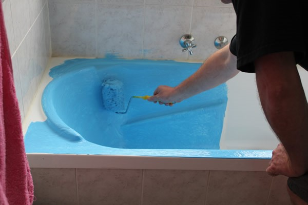 Покраска ванн своими руками